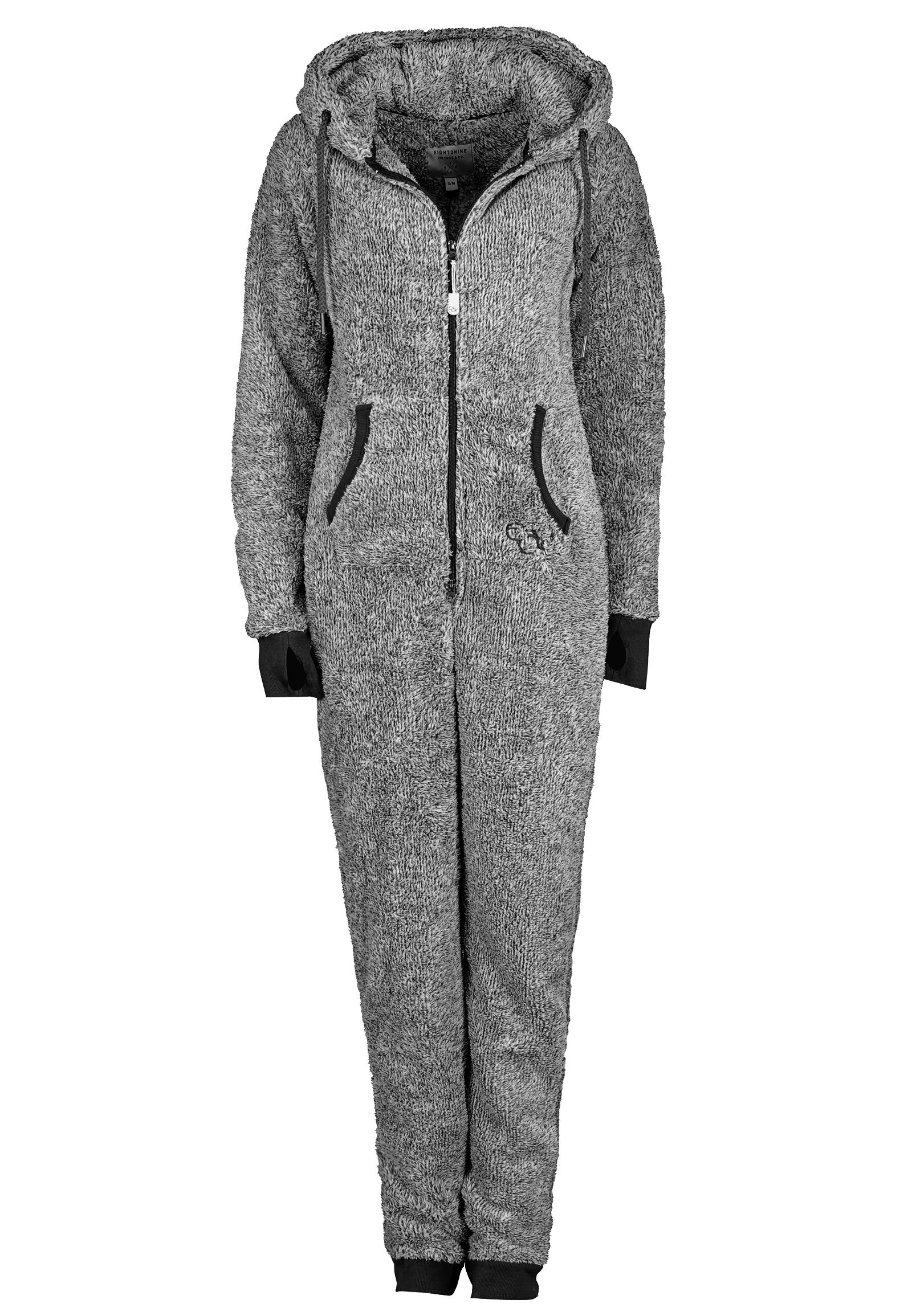 jumpsuit teddy fleece overall ganzk rperanzug ohren damen. Black Bedroom Furniture Sets. Home Design Ideas